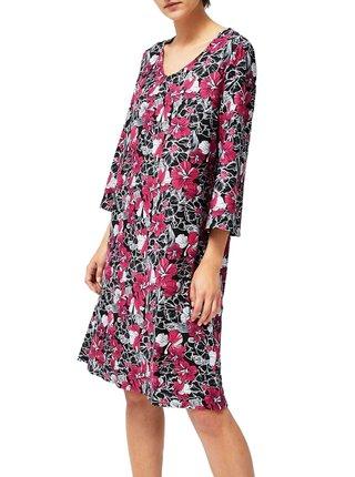 Moodo barevné šaty s květinami