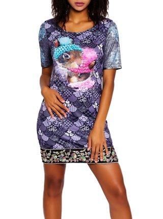 Culito from Spain fialové šaty Mariah Carey