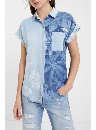 Desigual modrá košile Cam Bluewai
