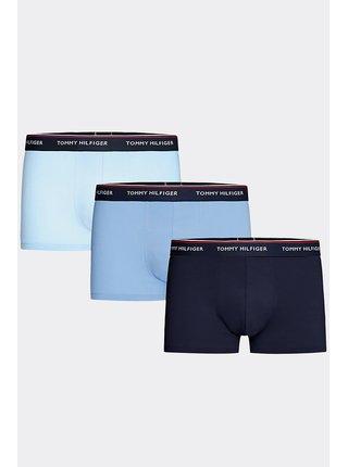 Tommy Hilfiger modrý 3 pack boxerek 3P Trunk