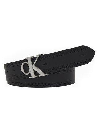 Calvin Klein černý pánský pásek CKJ GymClass Monogram
