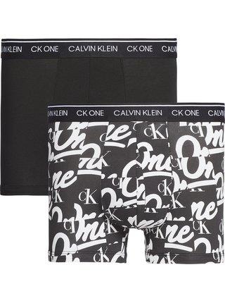 Calvin Klein černý 2 pack boxerek 2P Trunk