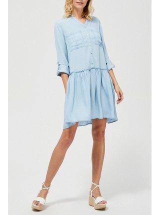 Moodo modré jarní šaty
