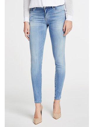 Guess modré džíny Skinny Fit Denim