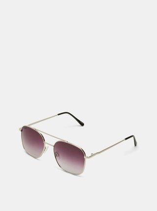 Pánské sluneční brýle ve stříbrné barvě Selected Homme Lyn