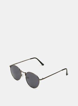 Tmavošedé pánske slnečné okuliare Selected Homme Lyn