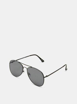 Černé pánské sluneční brýle Selected Homme Lyn