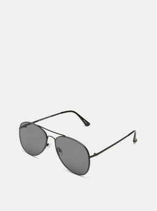 Čierne pánske slnečné okuliare Selected Homme Lyn