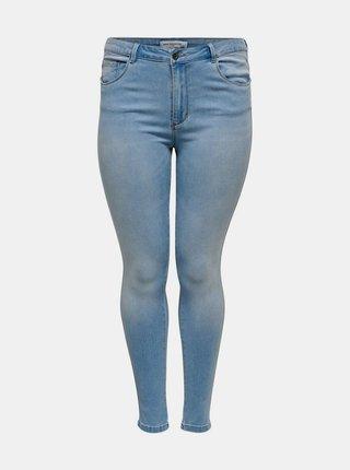 Světle modré skinny fit džíny ONLY CARMAKOMA Augusta