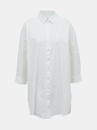 Biela dlhá košeľa Selected Femme Ami
