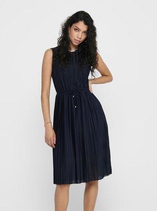 Tmavě modré šaty ONLY Elema