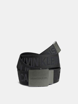 Čierny pánsky opasok Calvin Klein Jeans