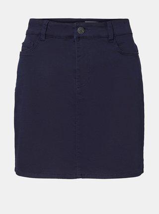 Tmavě modrá sukně VERO MODA Hot