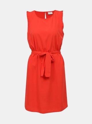 Červené šaty VILA Alinnia