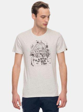 Krémové pánske tričko Ragwear Keeton