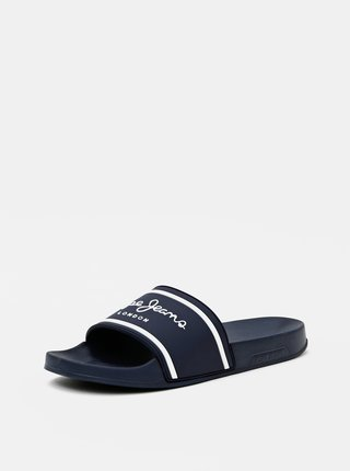 Tmavě modré pánské pantofle Pepe Jeans