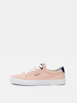 Ružové dámske tenisky Pepe Jeans