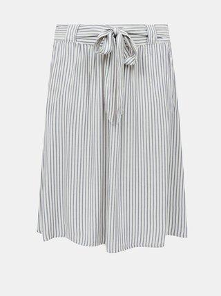 Bílo-modrá pruhovaná sukně ONLY CARMAKOMA Isa