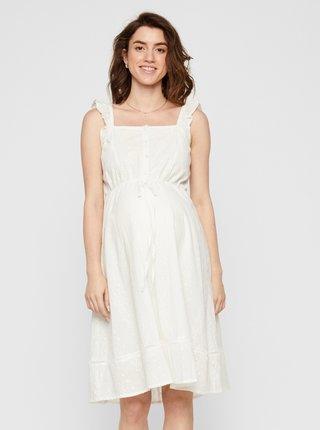 Biele tehotenské šaty Mama.licious Anglia
