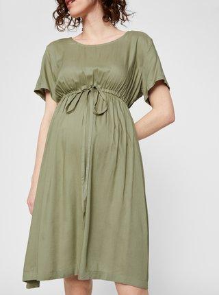Zelené tehotenské šaty Mama.licious Mariet