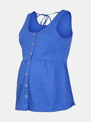 Modrý tehotenský top Mama.licious Milla