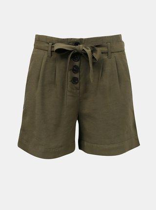Pantaloni scurti  pentru femei ONLY - verde inchis