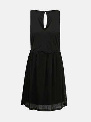 Čierne šaty VERO MODA Katie