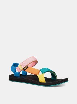 Ružovo-modré dámske sandále Teva Original Universal