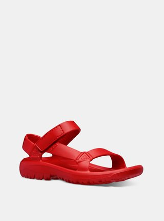 Červené dámske sandále Teva Hurricane