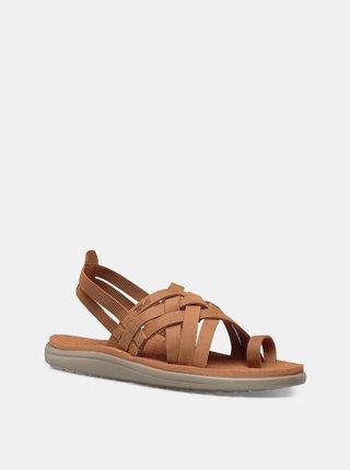 Hnědé dámské sandály Teva Voya Strappy