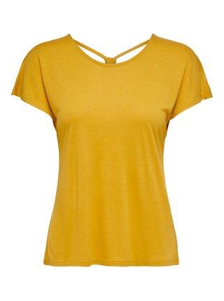 Žluté tričko ONLY Carrie