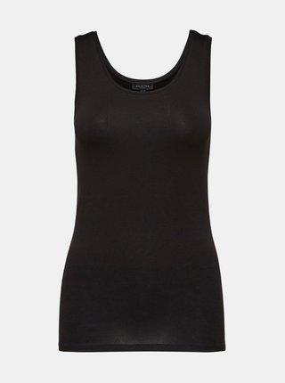 Čierne basic tielko Selected Femme Mio