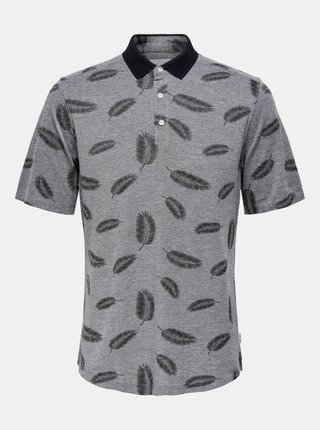 Tricouri polo pentru barbati ONLY & SONS - gri