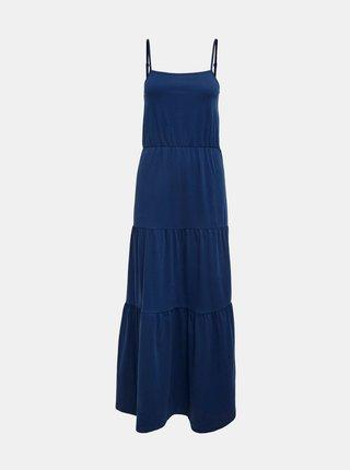 Tmavě modré maxišaty Jacqueline de Yong Fenna