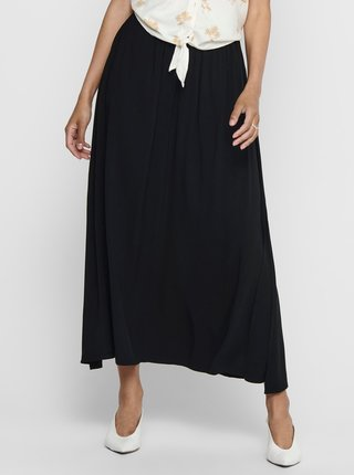 Čierna maxi sukňa Jacqueline de Yong Tianna