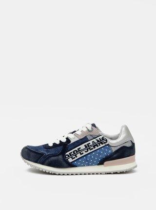 Pantofi sport si tenisi pentru femei Pepe Jeans - albastru