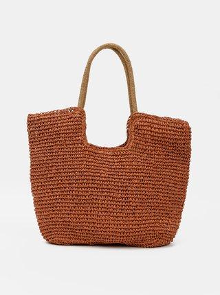 Hnědá plážová taška Haily´s Ella