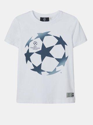 Bílé klučičí tričko name it UEFA