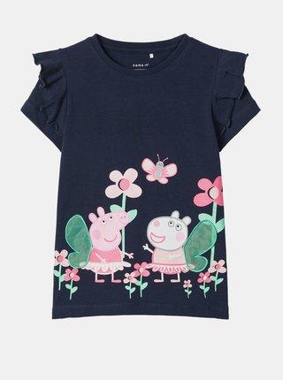 Tmavomodré dievčenské tričko name it