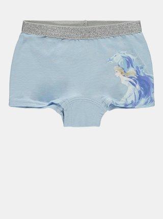 Sada dvou holčičích kalhotek v modré barvě name it