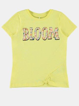 Žluté holčičí tričko name it