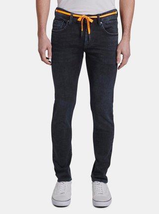 Tmavě modré pánské skinny fit džíny Tom Tailor Denim Culver