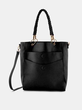 Čierna kabelka Pieces Miljo