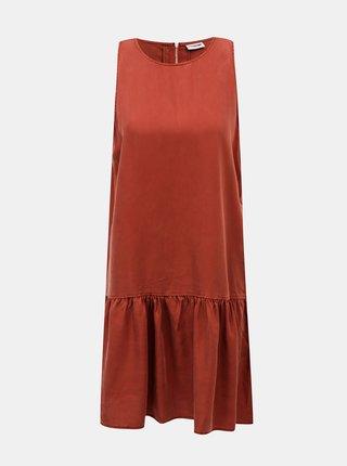 Hnedé šaty Noisy May Milia