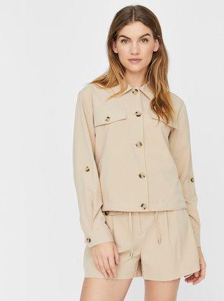 Jachete subtire pentru femei VERO MODA - bej