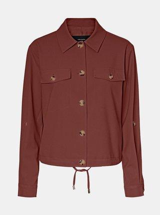 Jachete subtire pentru femei VERO MODA - maro