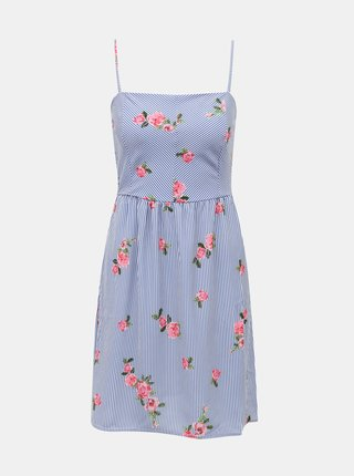 Modré kvetované šaty Haily´s Rose