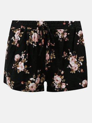 Čierne kvetované kraťasy Haily´s Rachel