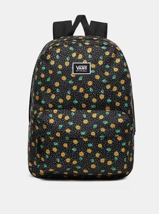 Čierny vzorovaný batoh VANS 22 l
