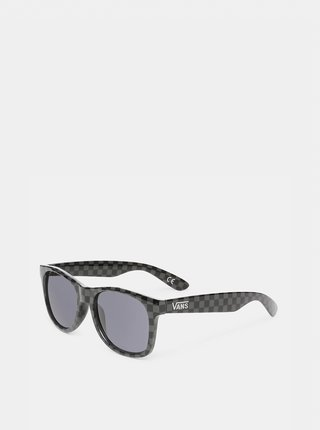 Černé vzorované sluneční brýle VANS